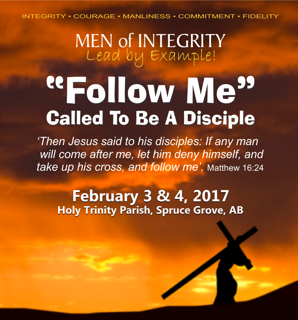 Men of Integrity Home Page 2017